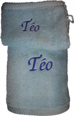 Serviette de Toilette Uni 50x100cm - 450gr/m2