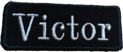 Patch nom rectangle