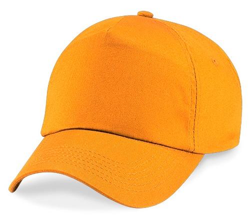 Caquette enfant orange