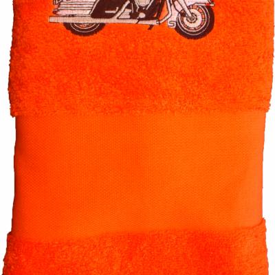 Serviette de Toilette 50x100cm - 450gr/m2 Brodée avec motif