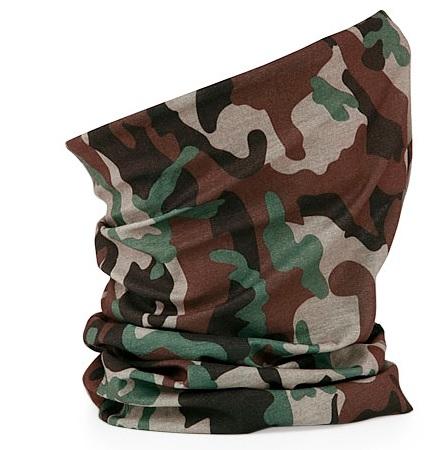 Tour de cou morf multi usage camouflage jungle