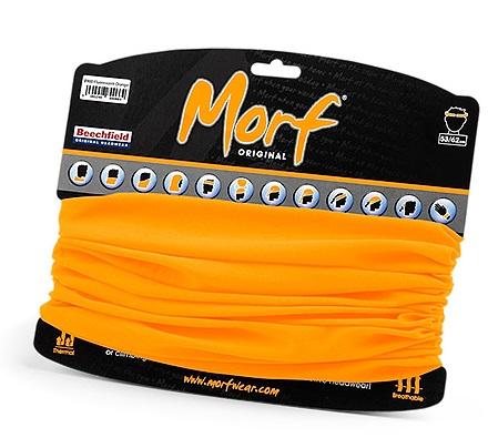 Tour de cou multiusage orange morf